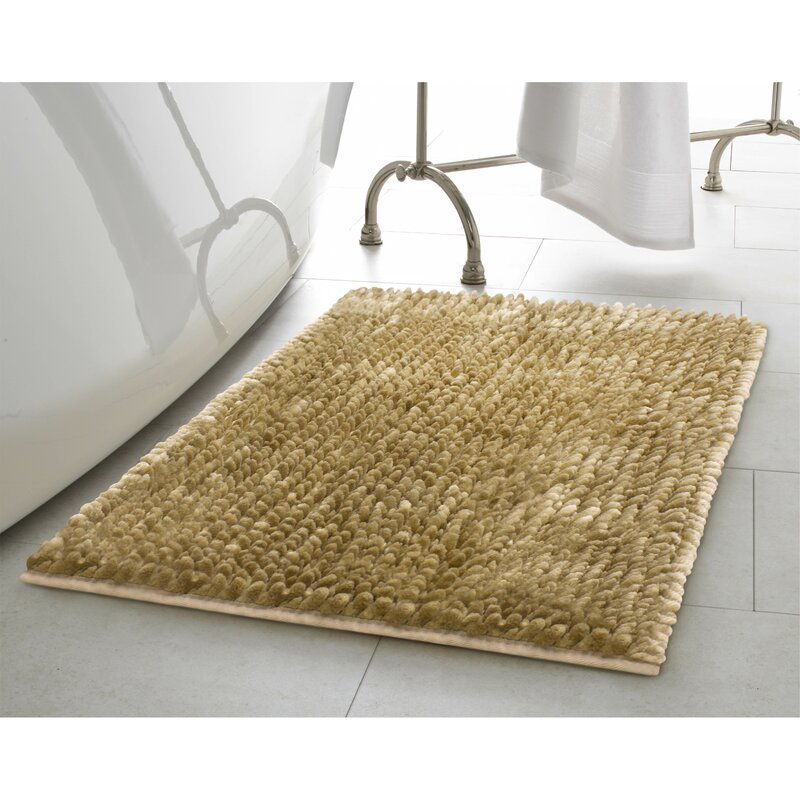 Butter Chenille Bath Rug. Bath Rugs   Bath Mats You ll Love   Wayfair