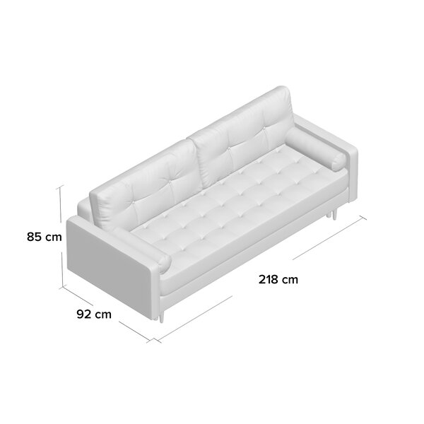II 4 Seater Clic Clac Sofa Bed