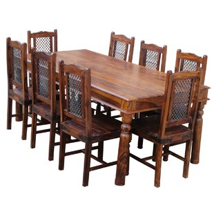 Lola Dining Set with 8 Chairs by Brick & Barrow