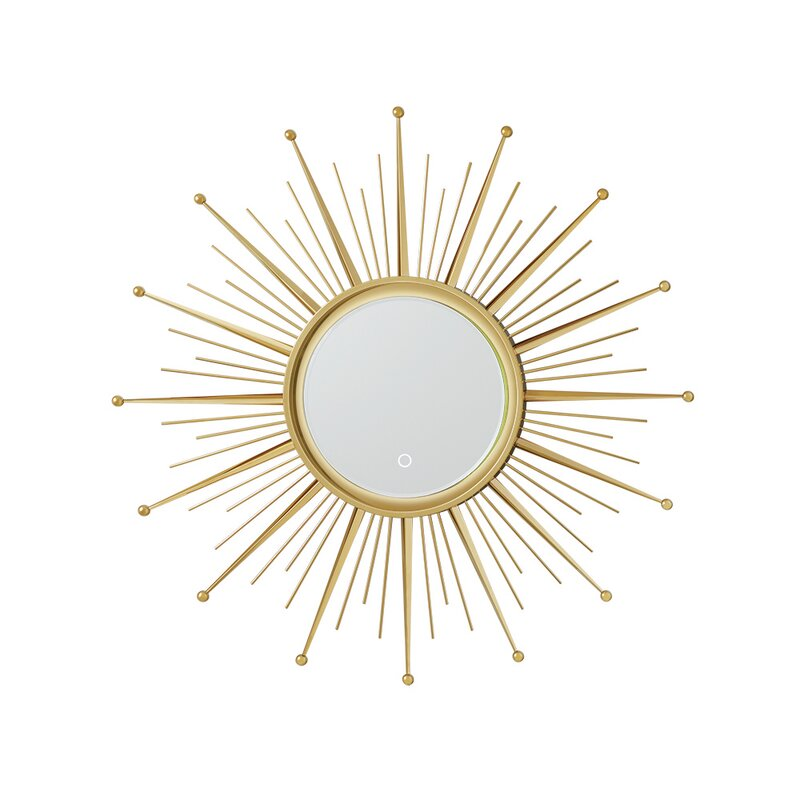 Ronbow Sunburst Mirror 35.47'' H x 35.47'' W x 1.1'' D  Item# 8167
