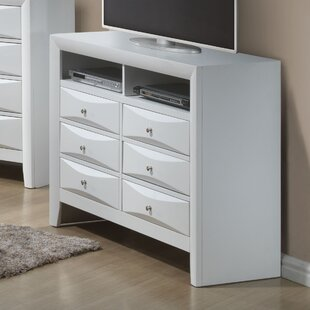 Shim 6 Drawer Media Chest
