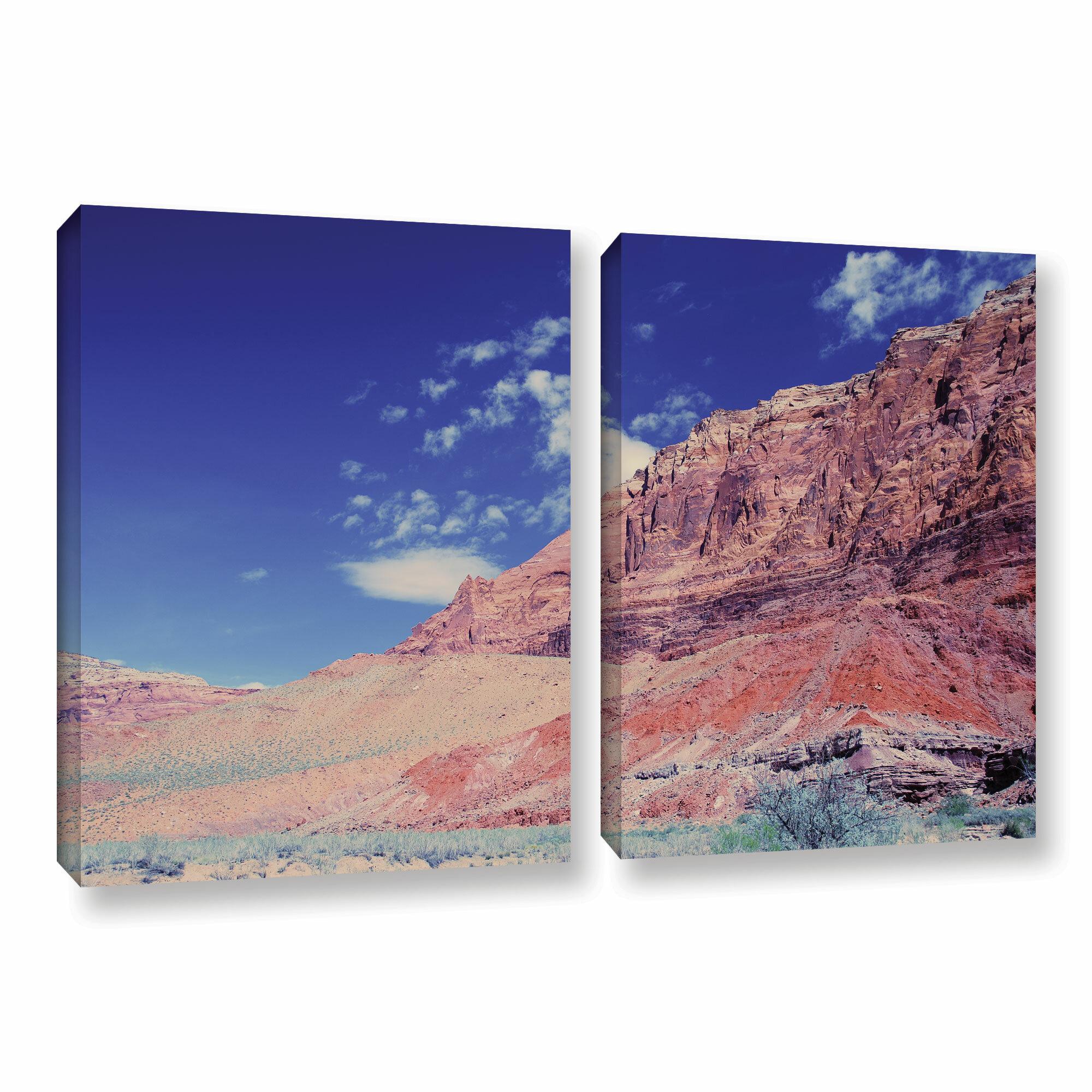 ArtWall Gene Fousts Joyride 4 Piece Gallery-Wrapped Canvas Set 36 x 48
