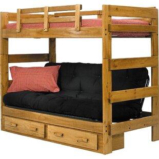 Futon Bunk Bed With Storage