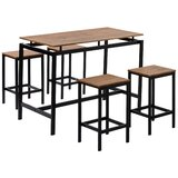 Dharm 5 - Piece Counter Height Dining Set by Latitude Run®