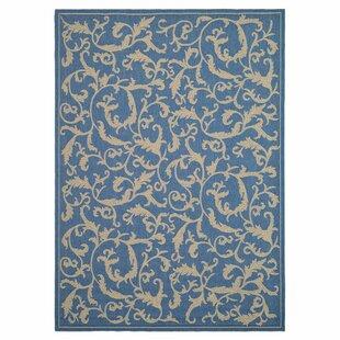 Herefordshire Persian Blue Indoor/Outdoor Area Rug