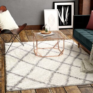 Collett White Area Rug By Mercury Row