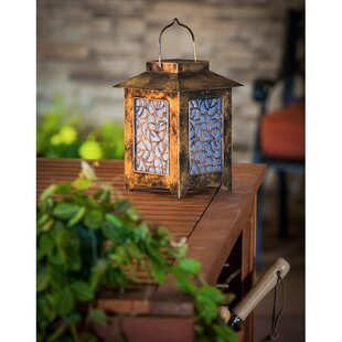 Evergreen Flag & Garden Hunter Lantern