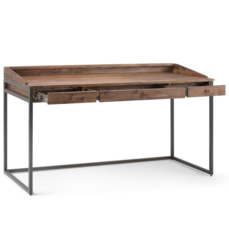 Sensational Cordell Solid Wood Writing Desk Download Free Architecture Designs Scobabritishbridgeorg