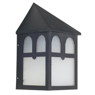 Winston Porter Dills 1-Light Outdoor Wall Lantern