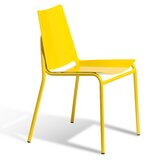 Sierra Metal Stacking Side Chair in Yellow by sohoConcept