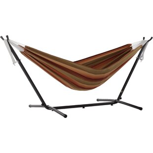 Double Tree Hammock with Stand