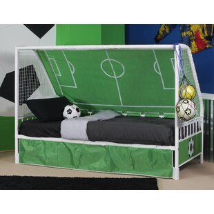 Aitana Goal Twin Keeper Canopy Bed