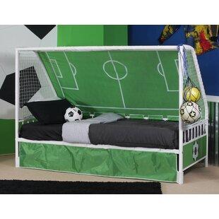 Comparison Arlene Goal Twin Keeper Canopy Bed ByZoomie Kids