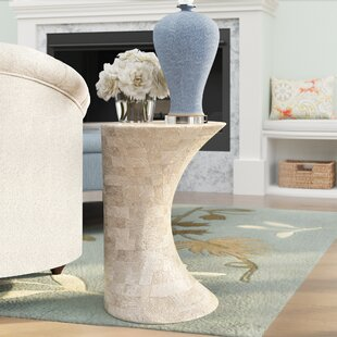 Mulcahy Pedestal End Table
