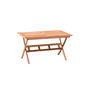 Sinclaire Extendable Teak Dining Table By Sol 72 Outdoor