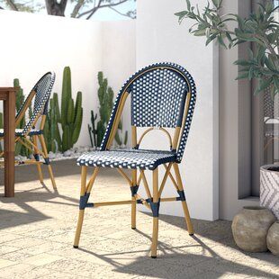 Rebeca Stacking Patio Dining Chair (Set of 2)