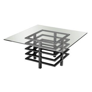 Stover Tempered Glass Coffee Table By Metro Lane