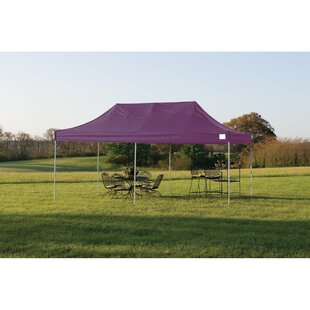 11 Ft. W x 20 Ft. D Steel Pop-Up Canopy by ShelterLogic
