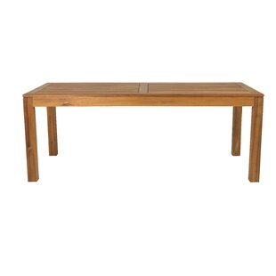 Samaira Wooden Dining Table By Sol 72 Outdoor