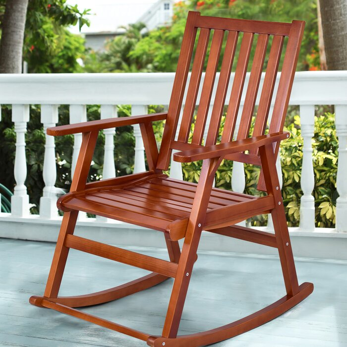 Incredible Sizemore Wood Rocking Chair Caraccident5 Cool Chair Designs And Ideas Caraccident5Info