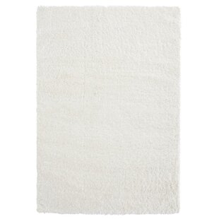 Affordable Cinda White Area Rug By Bungalow Rose