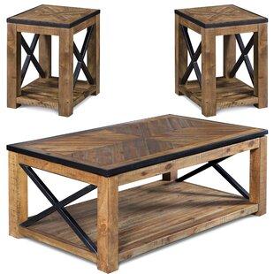Battershell 2 Piece Coffee Table Set Laurel Foundry Modern Farmhouse