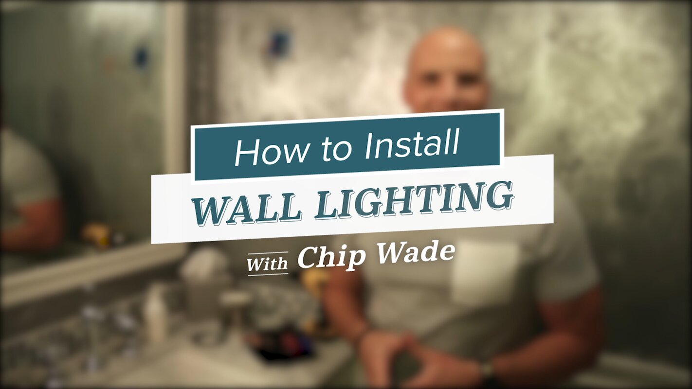 1-Light Square Wall Sconce