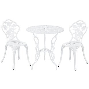 Settles 3 Piece Bistro Set by August Grove