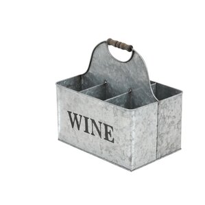 Metal 6 Bottle Tabletop Wine Bottle Rack by Cole & Grey