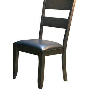 Alder Ladderback Upholstered Side Chair b..