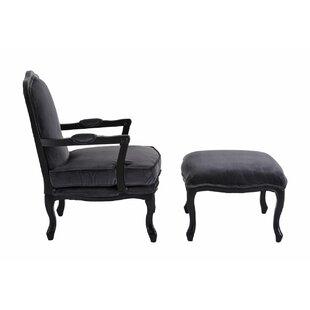 Bearer Hardwood Armchair And Ottoman By Rosalind Wheeler