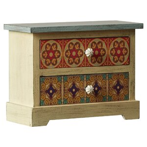 Hassania 2 Drawer Accent Chest