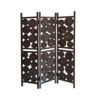 Union Rustic Pinette 3 Panel Room Divider