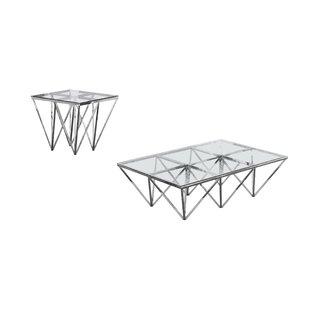 Krohn 2 Piece Coffee Table Set