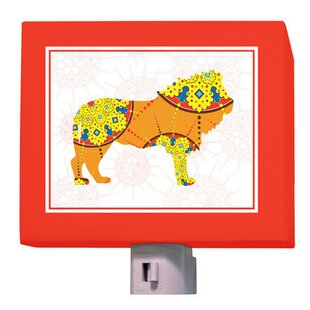 Oopsy Daisy A to Z Animal Prints Lion Night Light