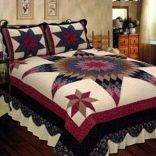 Elegant Decor Prairie Star Quilt