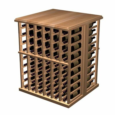 Wine Cellar Innovations Designer Series 108 Bottle Floor Wine Rack Wood Type: Rustic Pine, Finish: Unstained