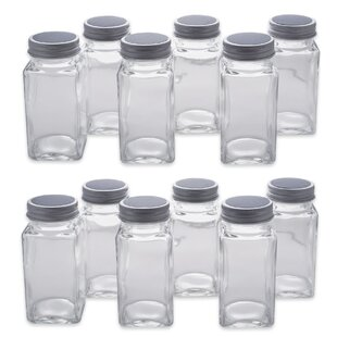 Chalkboard Label Spice Jar (Set of 12)