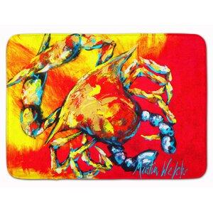 Crab Hot Dang Memory Foam Bath Rug