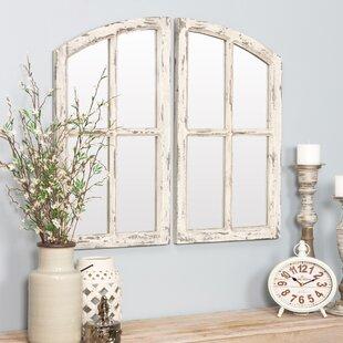 Farmhouse Accent Mirror Wayfair