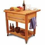 Selborne Solid Wood Kitchen Cart by Winston Porter