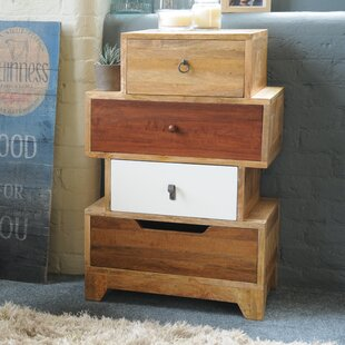 Mellal 4 Drawer Chest By World Menagerie
