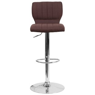 Rouillard Adjustable Height Swivel Bar Stool