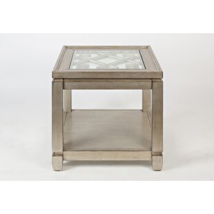 Delfina Wooden End Table