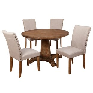 Ophelia & Co. Whitner Atwood 5 Piece Dining Set