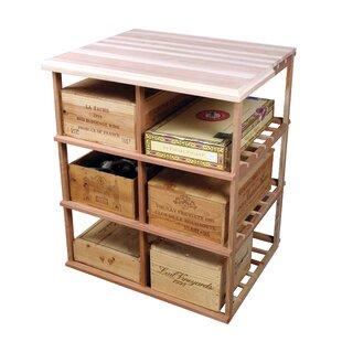 Designer Series 60 Bottle Floor Wine Rack