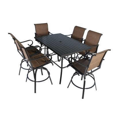 Cordoba 7 Piece Bar Dining Set by Darby Home Co Sale