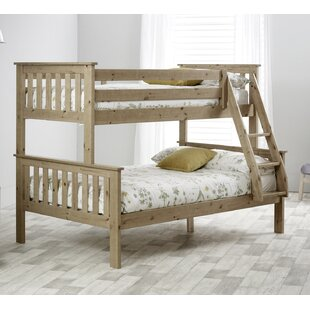 Carra Single Triple Sleeper Bunk Bed With Mattresses By Just Kids