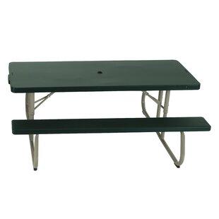 Lifetime Folding Plastic Picnic Table (Set of 10)