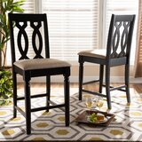 Leatherwood 25 Bar Stool (Set of 2) by Winston Porter